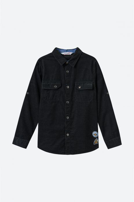 Koszula sztruksowa
