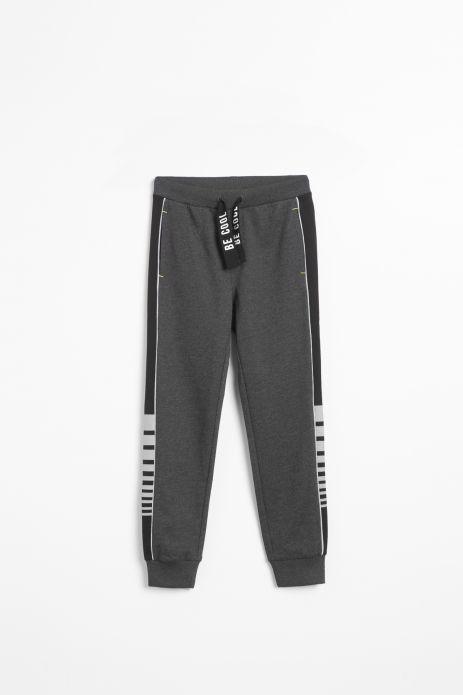 Spodnie dresowe w kolorze grafitowym