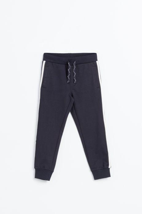 Spodnie dresowe z lampasami na nogawkach