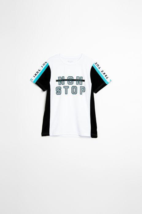 T-shirt z krókim rękawem