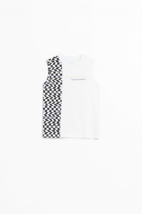 T-shirt bez rękawów