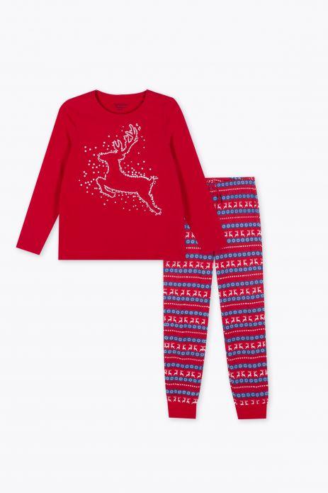 Piżama świąteczna