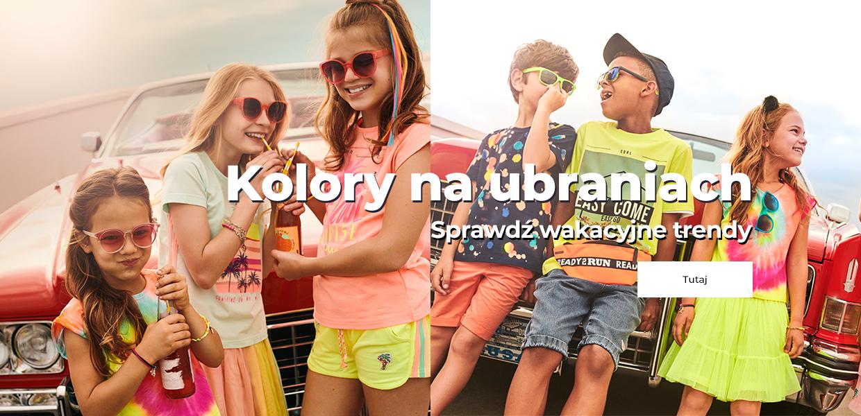 Kolory na ubraniach PL